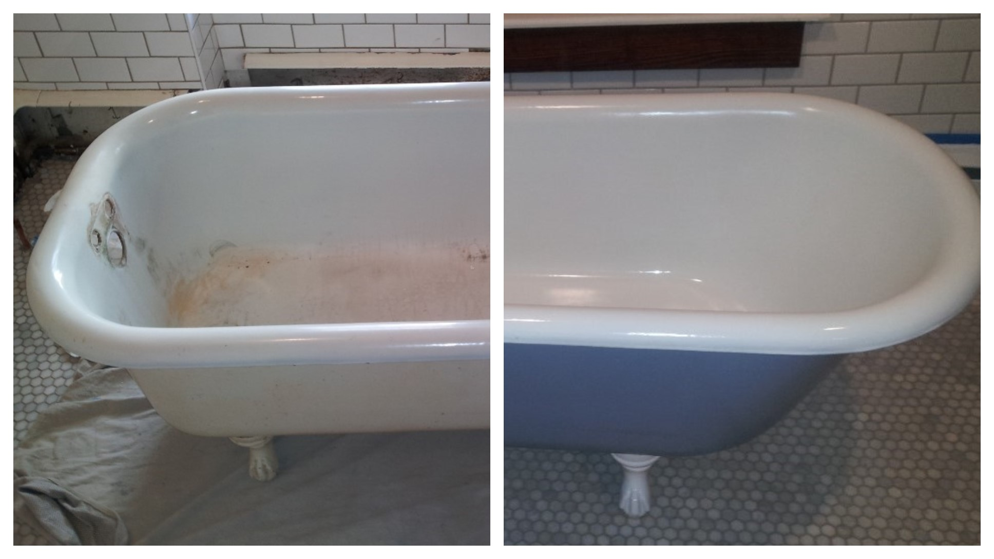 Armorkote Bathtub and Tile, Countertop Reglazing, Refinishing Repair ...
