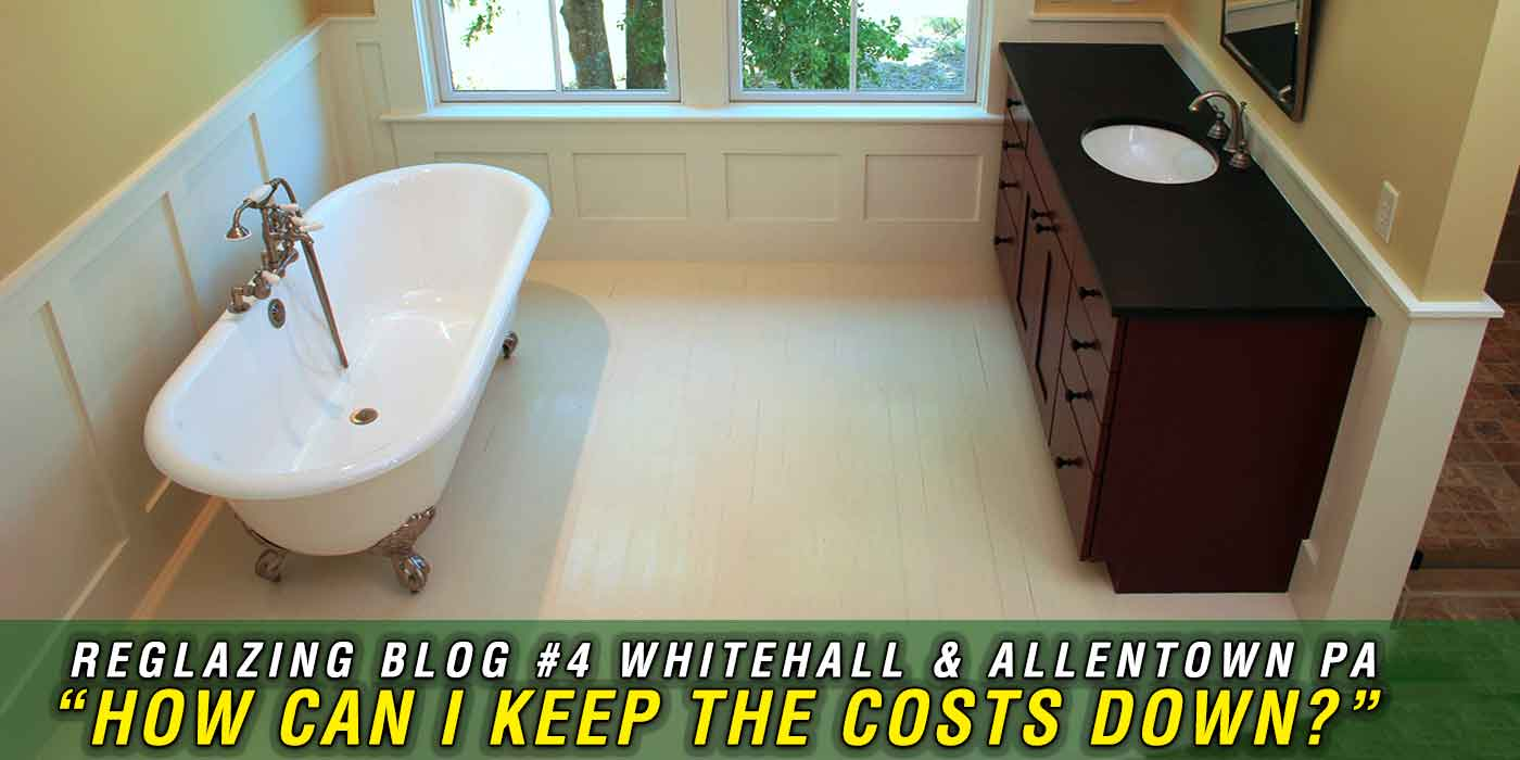 Reglazing Bathtubs In Whitehall Lehigh County And Allentown Pa